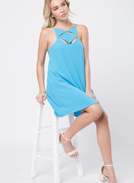 Love Riche LD41750 cage front dress