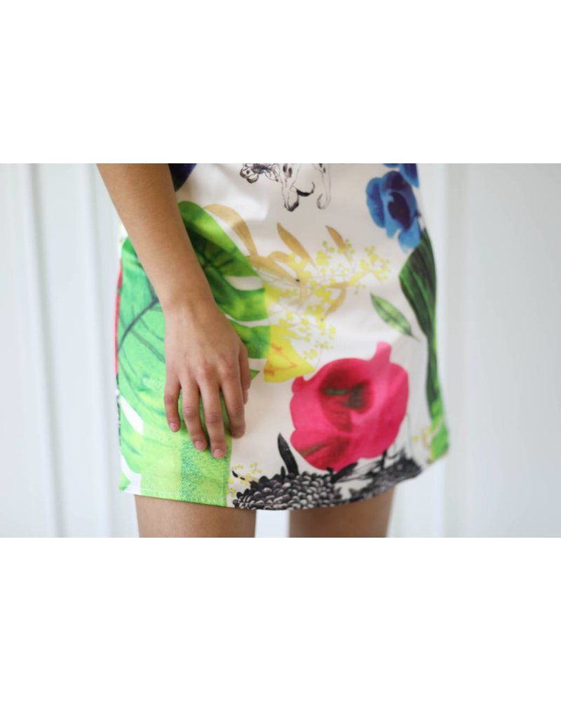 Aakaa d21272h halter mini dress