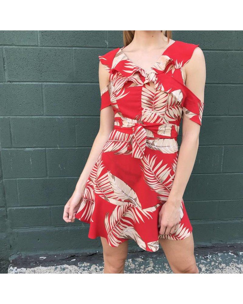 lhd170 floral dress