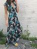 d-3778 tie front maxi dress