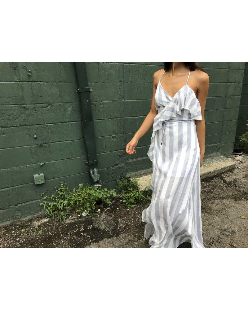 26d1fd8e3c LD4672 wrap maxi dress - Rococo