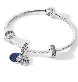 Pandora Jewelry Gift Set Bracelet Dazzling Wishes sz 19