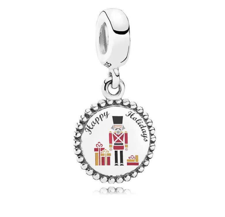 Pandora Jewelry Dangle Nutcracker, Mixed Enamel