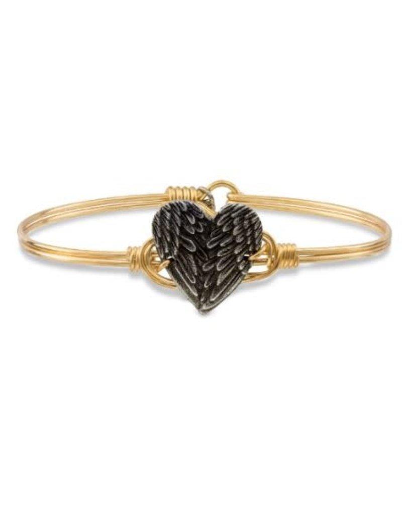 Luca & Danni Angel Wing Heart Bracelet