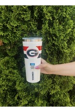 Corkcicle 24oz Tumbler UGA Gym Stripe