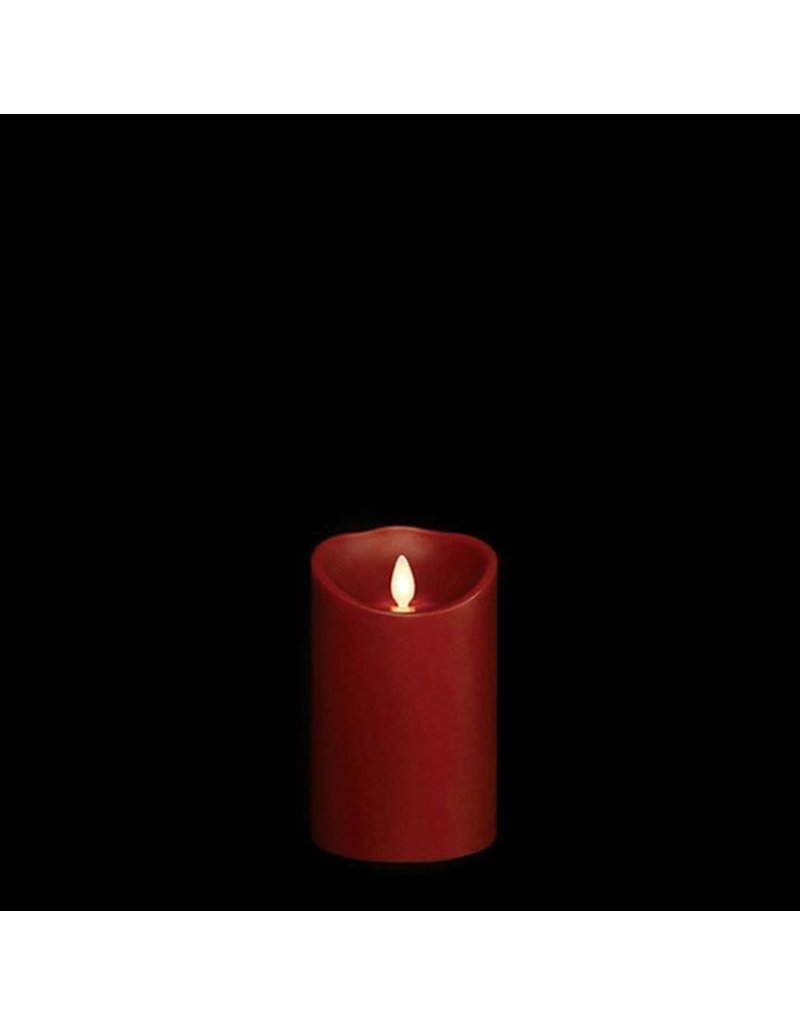 "3.5"" x 5"" Pillar Candle Red"