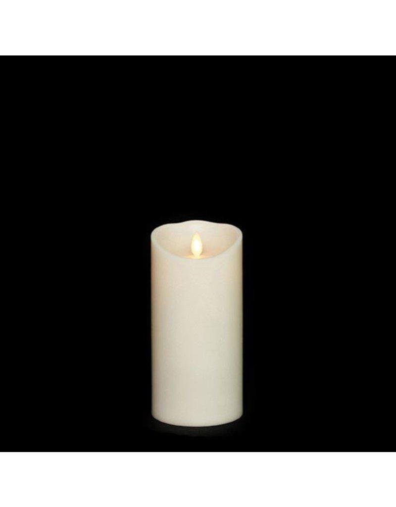 "3.5"" x 7"" Pillar Candle Ivory"