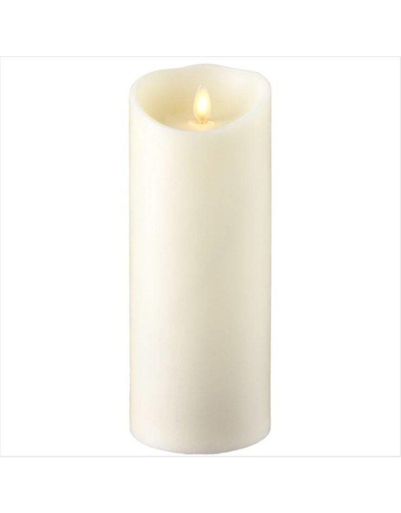 "3.5"" x 9"" Pillar Candle Ivory"