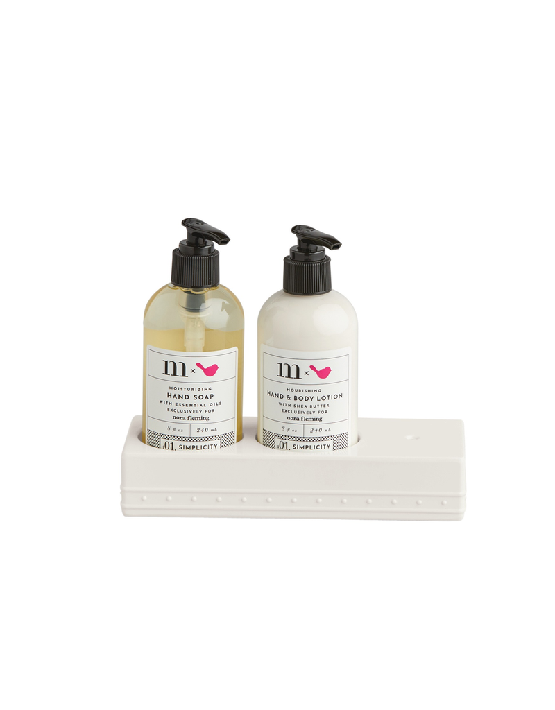 Nora Fleming, LLC Melamine Soap and Lotion Set