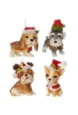 Dog Ornament Asst