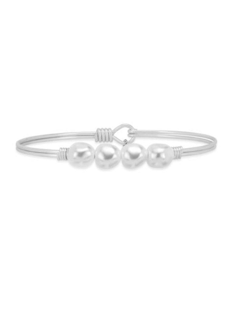 Luca & Danni Baroque Crystal Pearl Bracelet