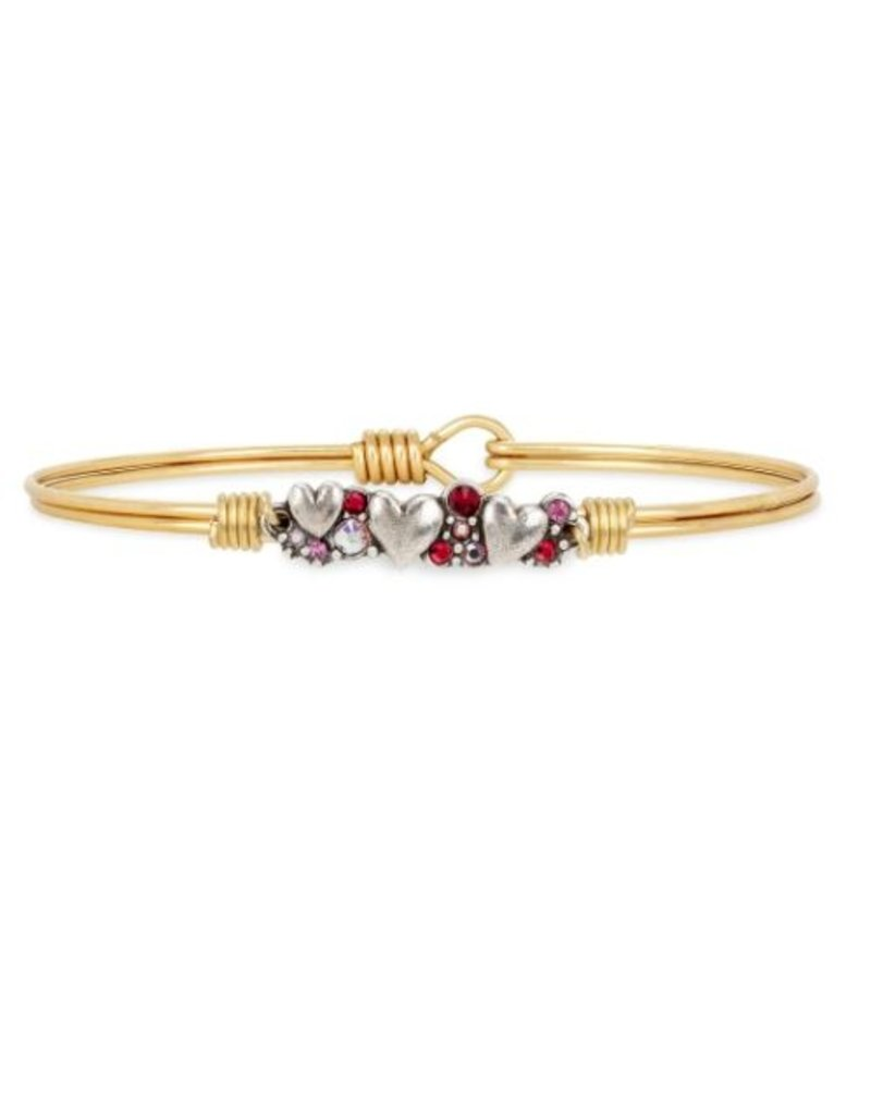 Luca & Danni Heart Medley Bracelet