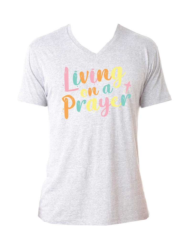 Jane Marie Living On A Prayer Tee