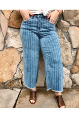 French Dressing Jeans Olivia Wide Leg Crop Pant
