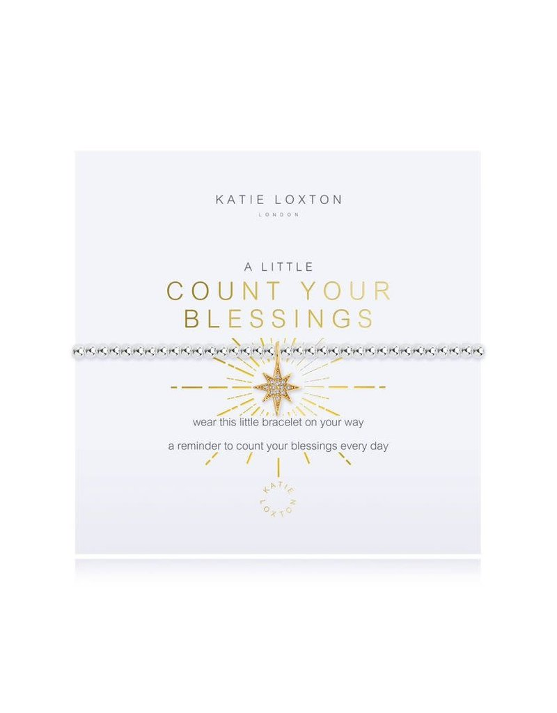 Katie Loxton A Little Count Your Blessings Bracelet