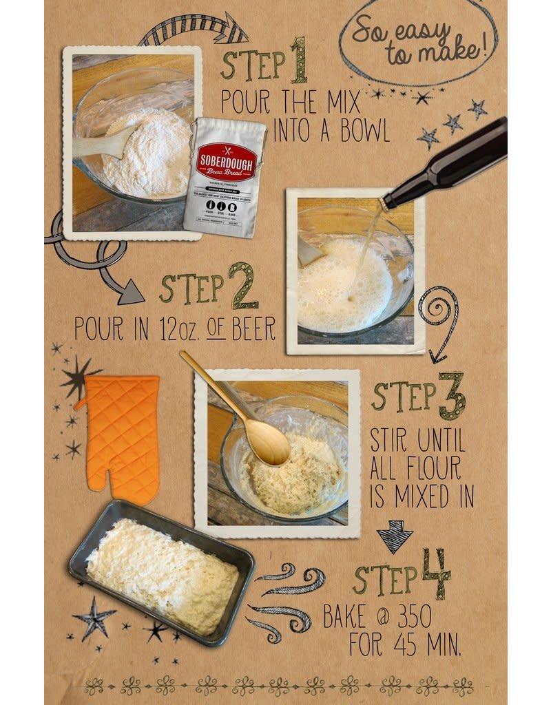 Soberdough Rosemary Brew Bread Mix