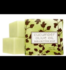 Greenwich Bay Trading Cucumber Olive Oil 1.9oz Mini Soap
