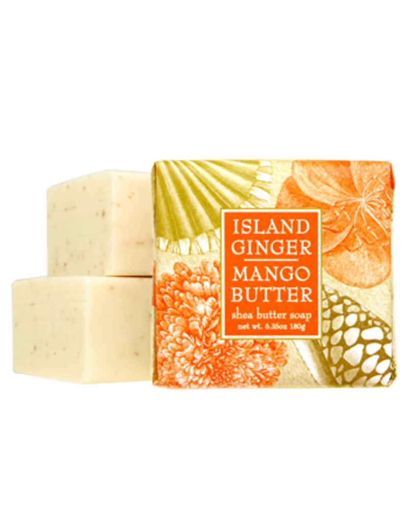 Greenwich Bay Trading Island Ginger Mango 1.9oz Mini Soap
