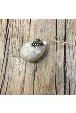 K & K Interiors, Inc. Cream Felt Egg With Feathers