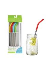 Krumb's Kitchen 4-Pack Reusable Straws