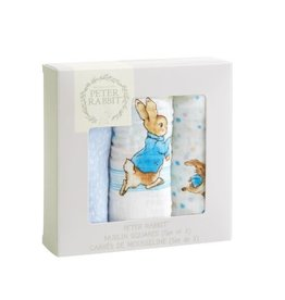 Enesco Peter Rabbit Cotton Cloth Set