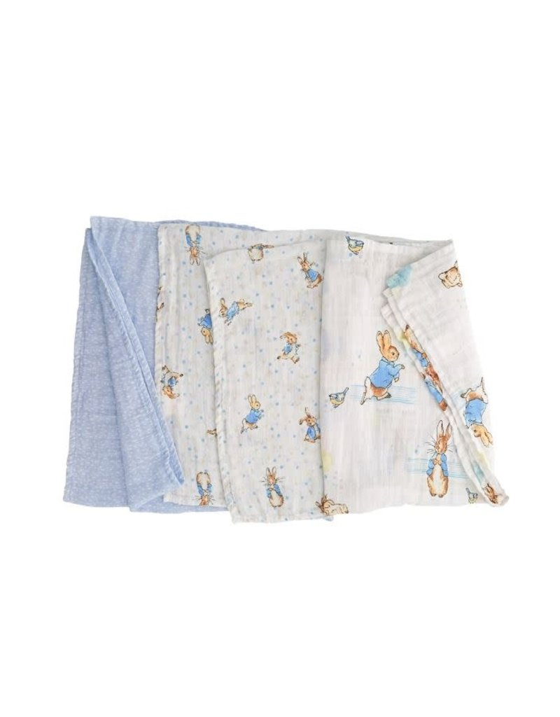 Enesco Peter Rabbit Cotton Cloth Set