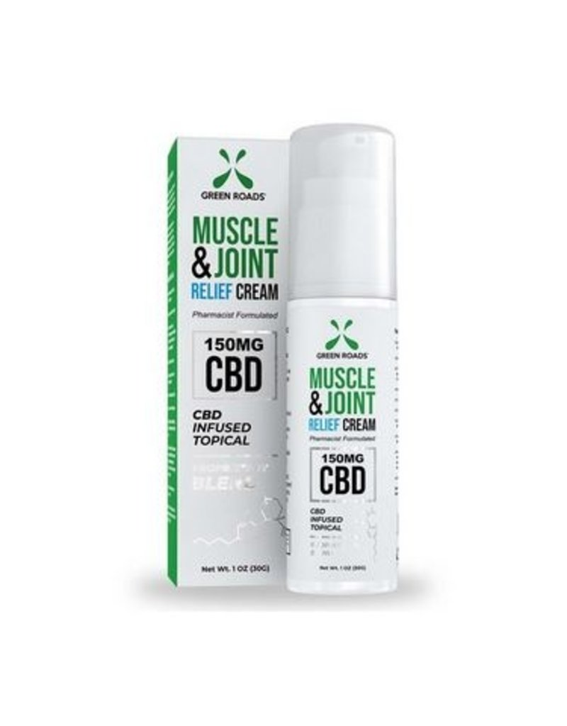 Green Roads CBD 150 Mg Muscle and Joint Cream