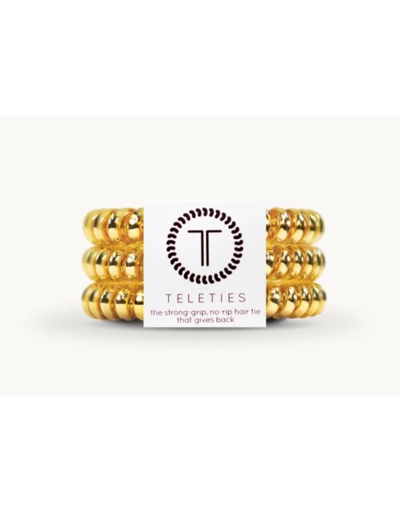 Teleties Small Teleties Sunset Gold