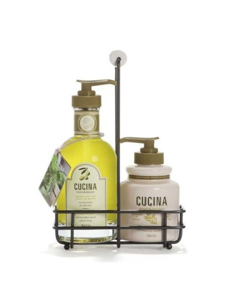 Fruits & Passion Boutique Inc. Cucina Coriander Soap & Hand Cream Duo