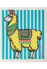 Wet-It Swedish Treasures Wet-It Cloth Polka Llama