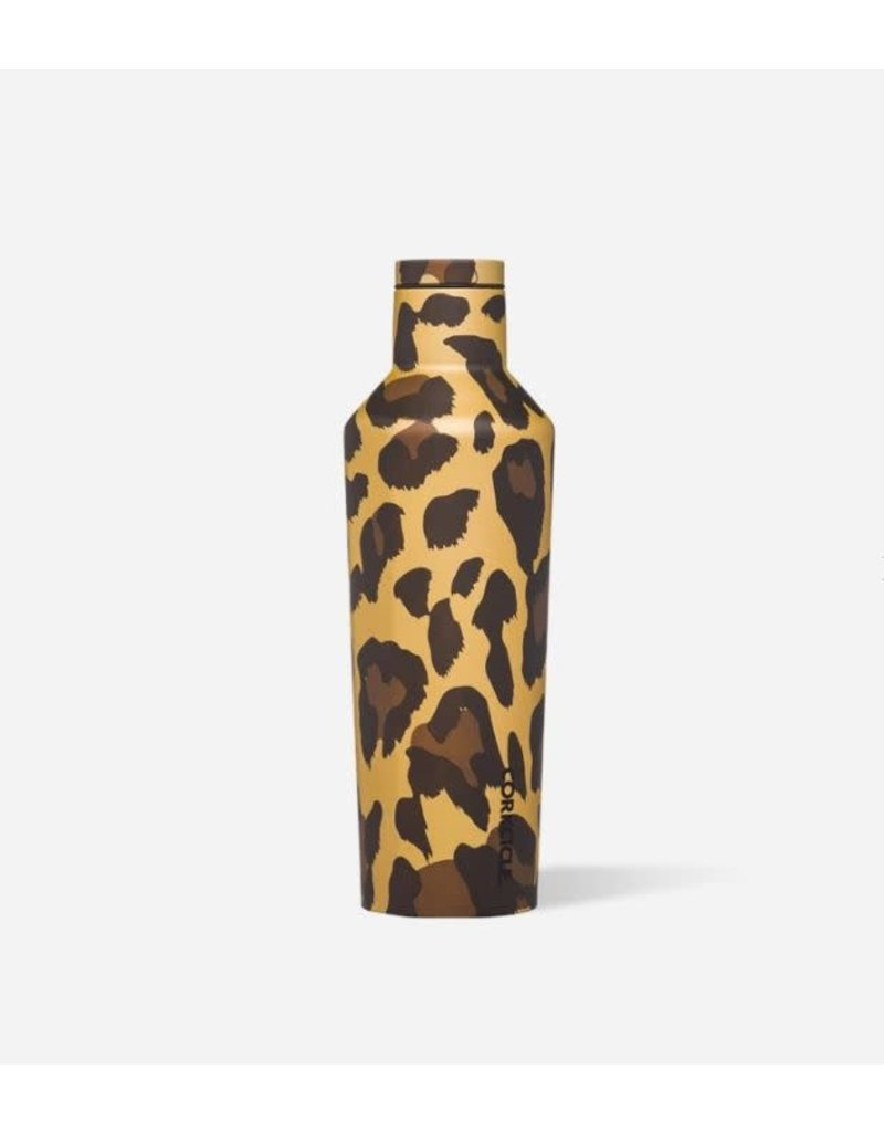 Corkcicle Luxe Leopard Canteen 16oz