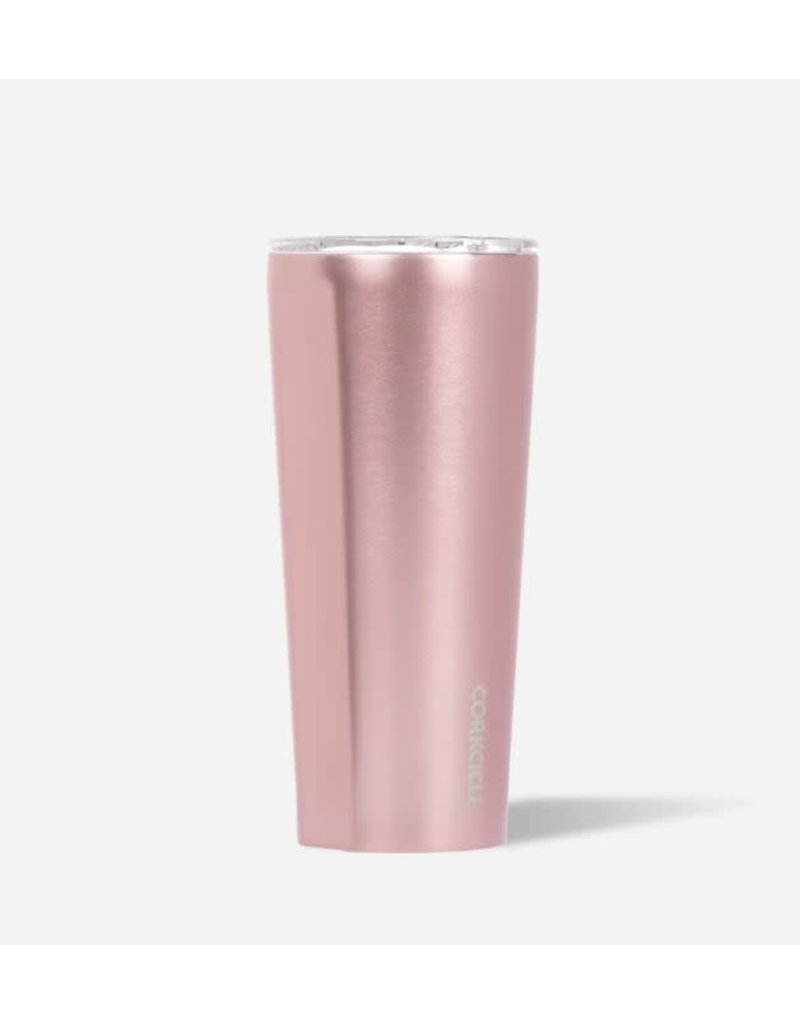 Corkcicle Tumbler 24 oz Rose Metallic
