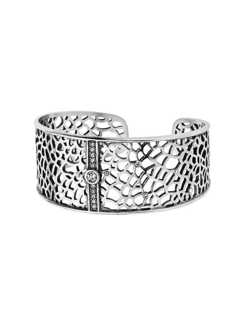 Brighton Fiji Sparkle Cuff Silver