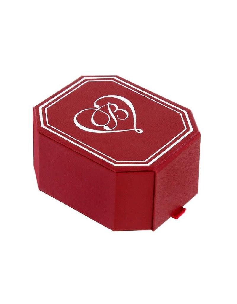 Brighton Infinity Sparkle Petite Heart Necklace Gift Box