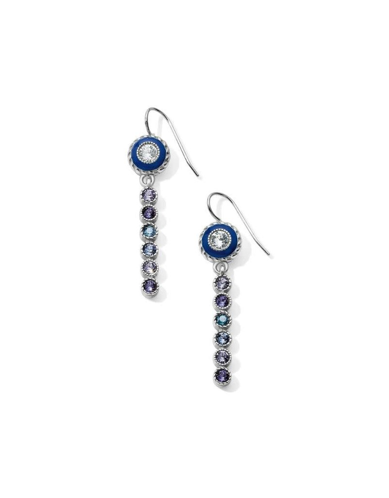 Brighton Halo Eclipse Long French Wire Earring