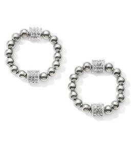 Brighton Meridian Petite Hoop Drop Earrings