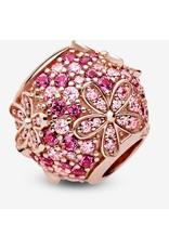 Pandora Jewelry Pink Pavé Daisy Flower Charm