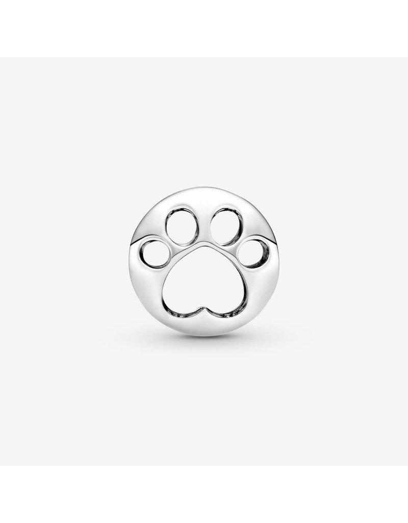 Pandora Jewelry Charm Openwork Paw Print
