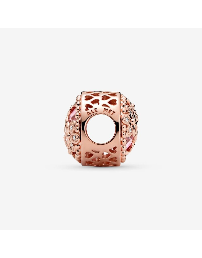 Pandora Jewelry Sparkling Pink Daisy Flower Charm