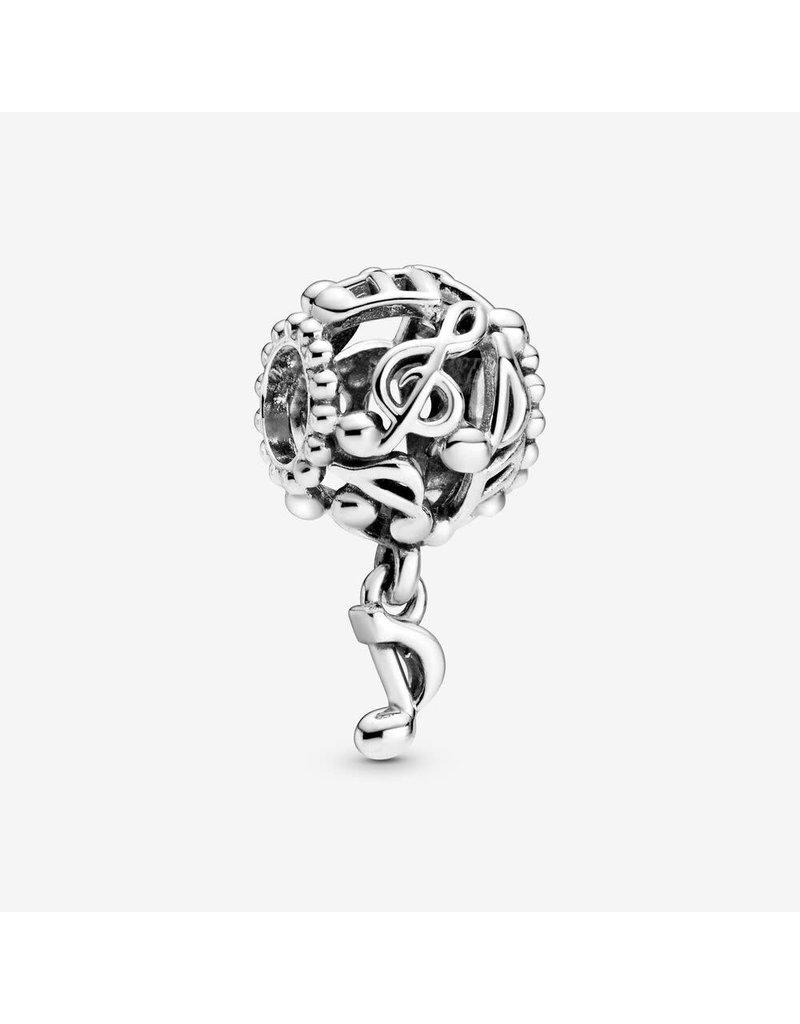 Pandora Jewelry Charm Openwork Music Notes