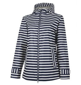 Charles River Apparel Striped New Englander Rain Jacket