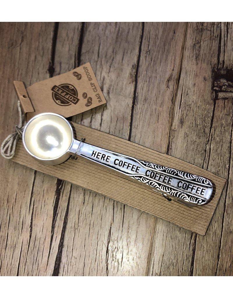 Mud Pie Coffee Scoop Bag Clip