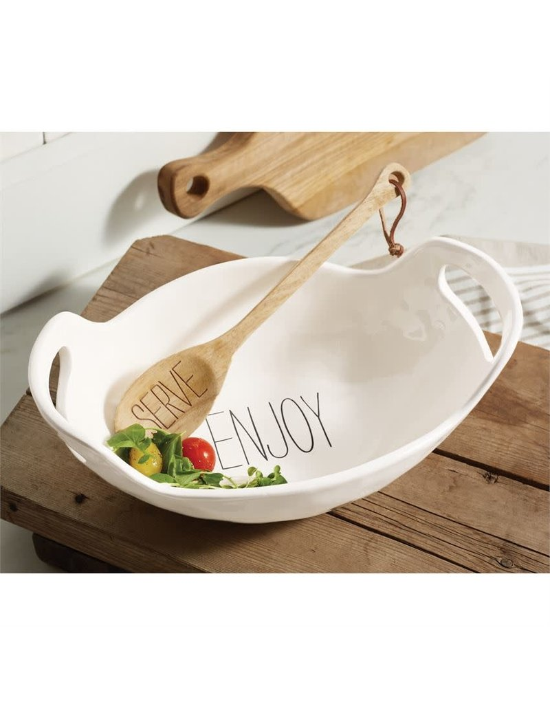 Mud Pie Enjoy Serving Bowl Set