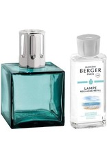 Lampe Berger Cube Giftset Turquoise