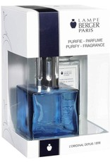 Lampe Berger Cube Giftset Blue