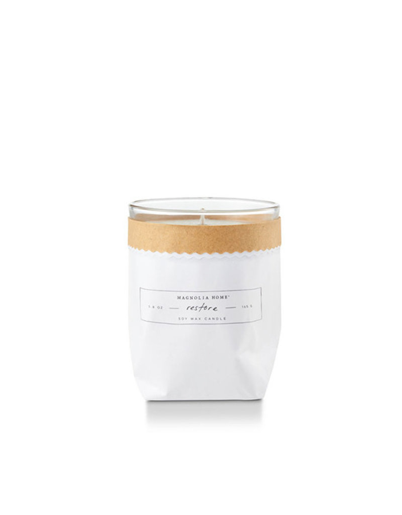 Magnolia Home Bagged Candle Restore