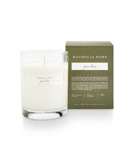 Magnolia Home Garden Boxed Glass Candle