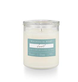 Magnolia Home Dwell Glass Jar Candle