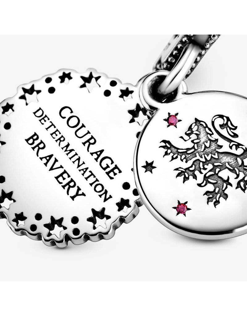 Pandora Jewelry Dangle, Harry Potter, Gryffindor, Red CZ