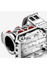 Pandora Jewelry Charm, Harry Potter, Hogwarts Express, Red Enamel